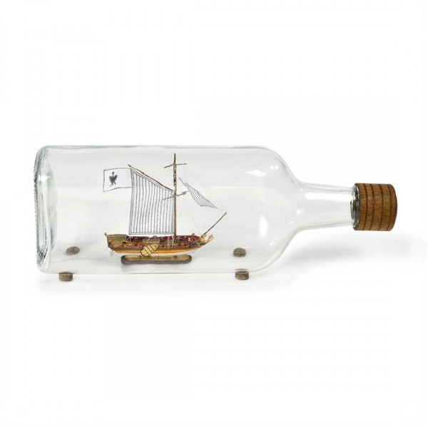 Ship in a Bottle Dutch Yacht Kit