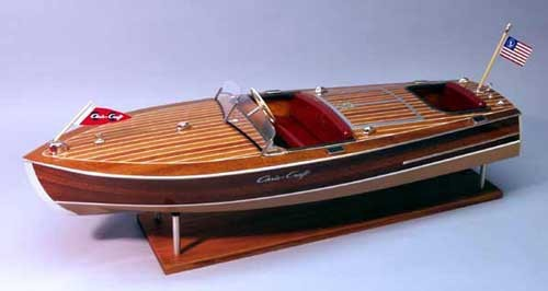 Chris Craft Racer 19´ Mahagoni Bausatz