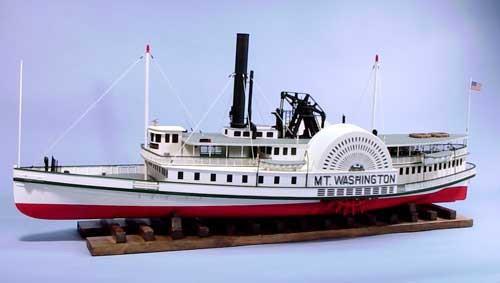 Paddle Wheeler Mount Washington