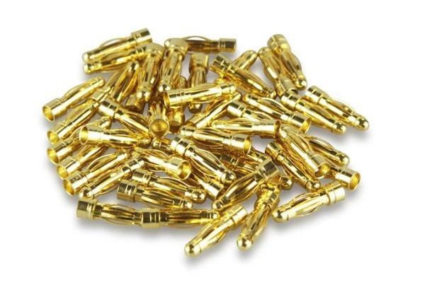 Goldkontakt 2mm Stecker