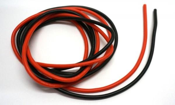 Silikonkabel 4mm² schwarz