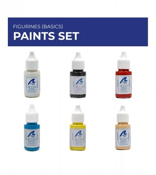 Paints Set: Figurines (basics)