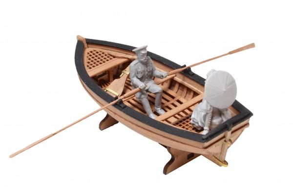 Ruderboot mit Zar Nikolaus II