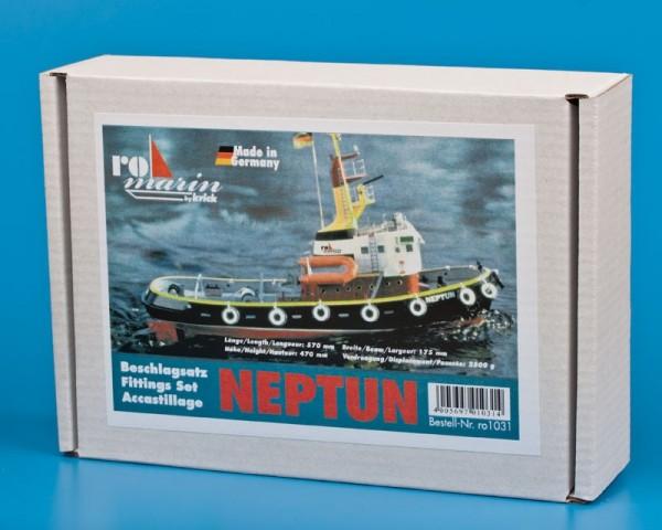 Beschlagsatz Neptun Schlepper