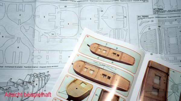 Bauplan Endeavour Mantua