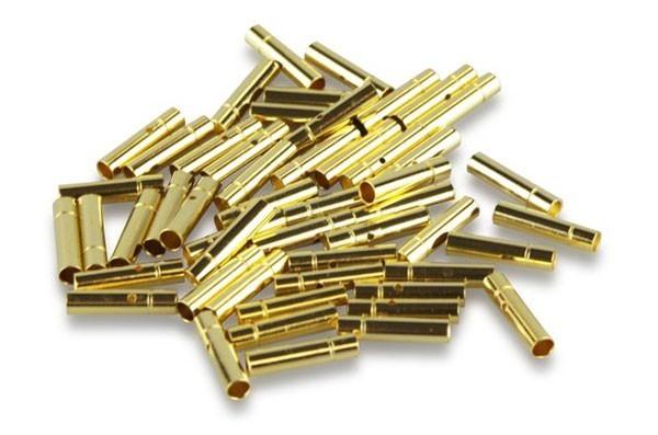 Goldkontakt 2mm Buchse