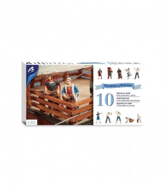 Figures Set Caravels and Galleon