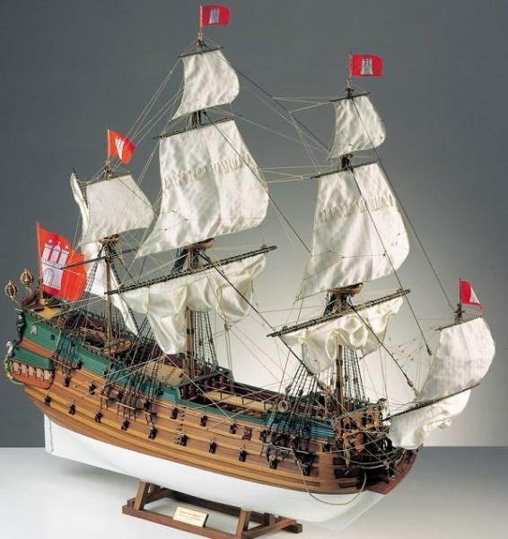 Wappen von Hamburg Segelschiff