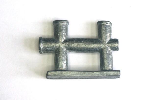 Doppelkreuzpoller 22mm