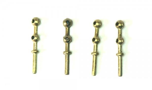 STANCHIONS 2 HOLES 2 x 14 mm (4 units)