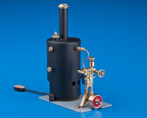 Einzylinder Dampfmaschine Anna