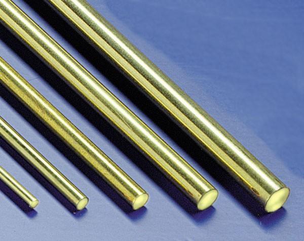 Messingdraht 2,5mm 1m Stab