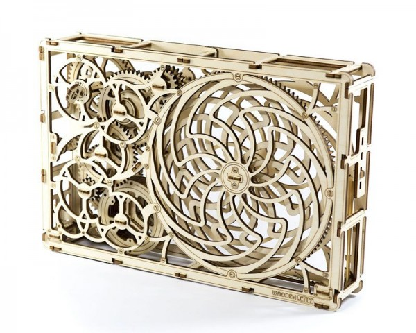 Kinetisches 3D Mandala Bild
