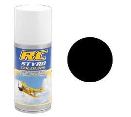 RC Styro 610 schwarz 150 ml Spraydose