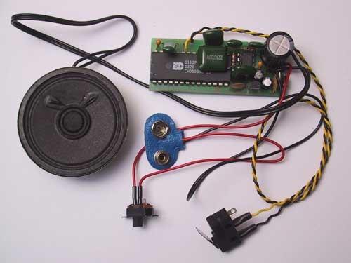 alte Dampfpfeife Soundmodul