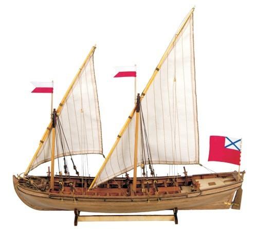 Doppel-Schaluppe 1736-1737