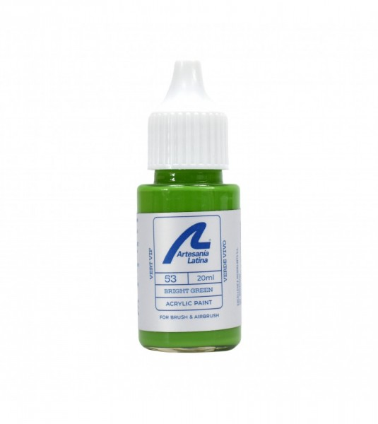 Water-based paint 20 ml - Bright green