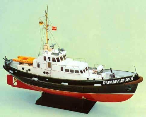RC Modell Reedemotorschiff Grimmershörn Baukasten