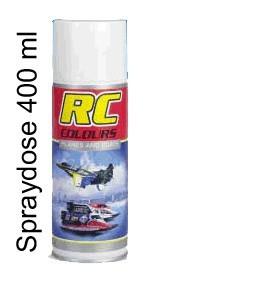 Klarlack glänzend RC Colour 400 ml Spraydose