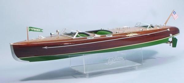 Typhoon Mahagoni Rennboot RC Modell