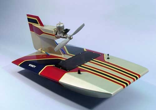 Bausatz Luftschraubenboot Windy