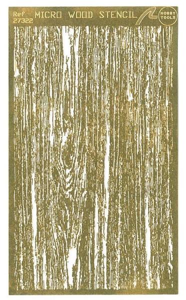 Schablone Holzoptik Airbrush
