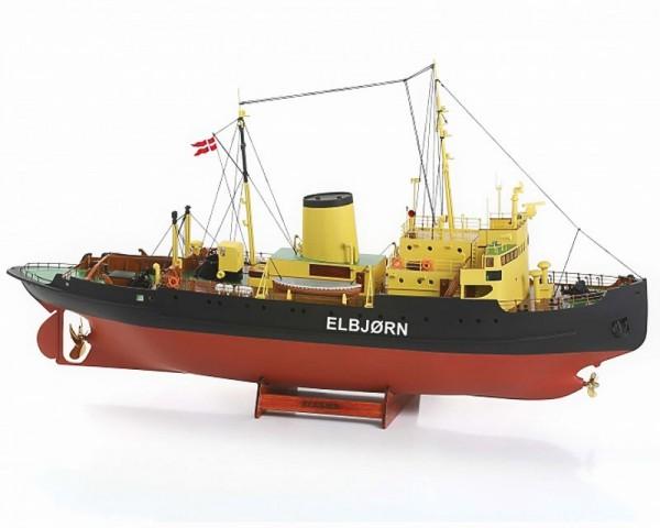 """Elbjørn """"Icebreaker"""" RC Ship Model Kit"""