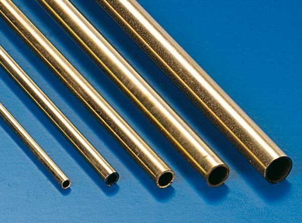 Messingrohr 2 x 1,6 mm x 1000mm