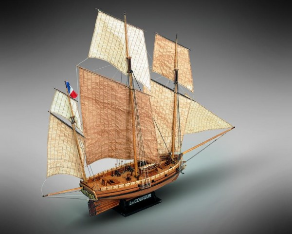 "French Lugger ""Le Coureur"""