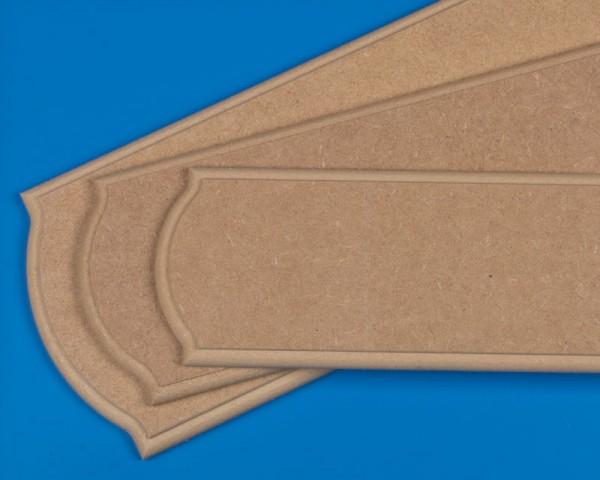 Grundplatte MDF 500x150x14mm