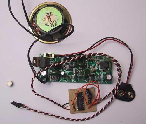 Dampfmaschinen Ton Soundmodul