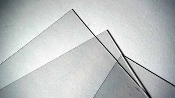 PVC Platte Folie transparent 0.15mm