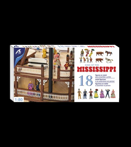 Figures Set King of Mississippi