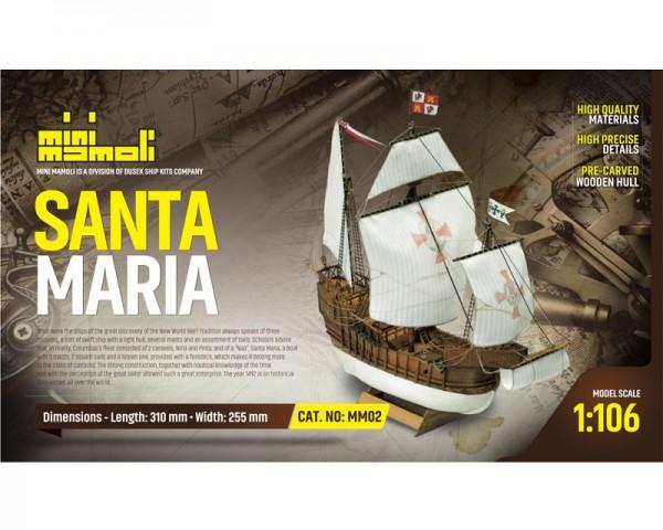 Santa Maria M 1:106 Mini Mamoli