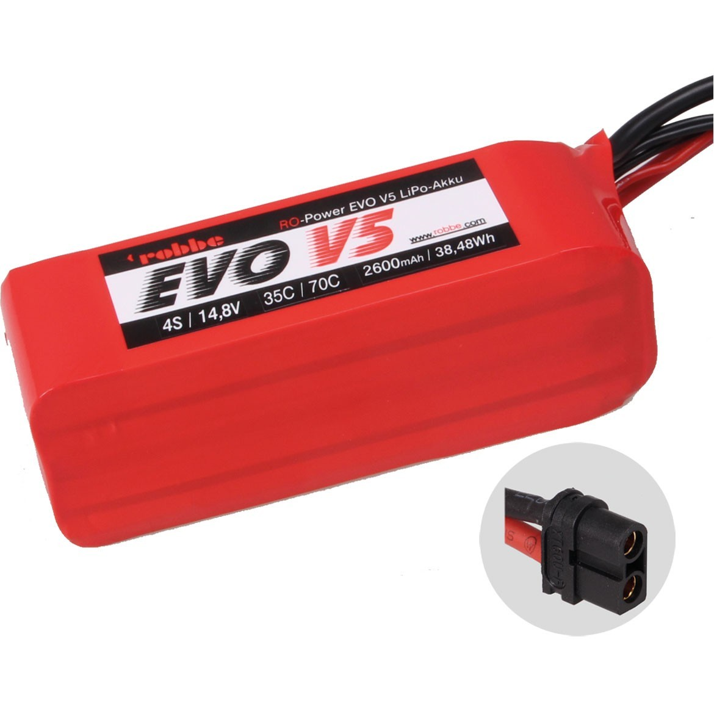Ro Power EVO 5 4S 2600 mAh Lipo Akku