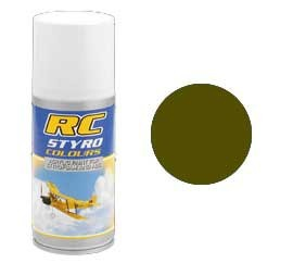 RC Styro 313 tarngrün 150 ml Spraydose