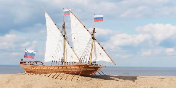 Russische Galeere Asov Skampavia